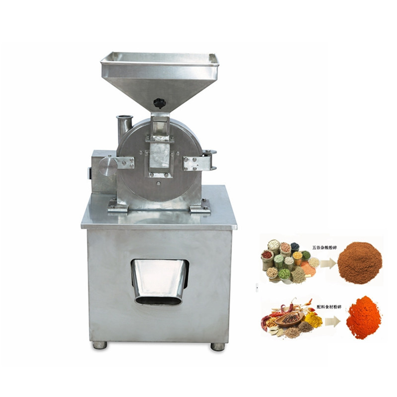 Herbal corn fruit chili powder grinding sugar salt powder milling pepper grinding pulverizer milling machine