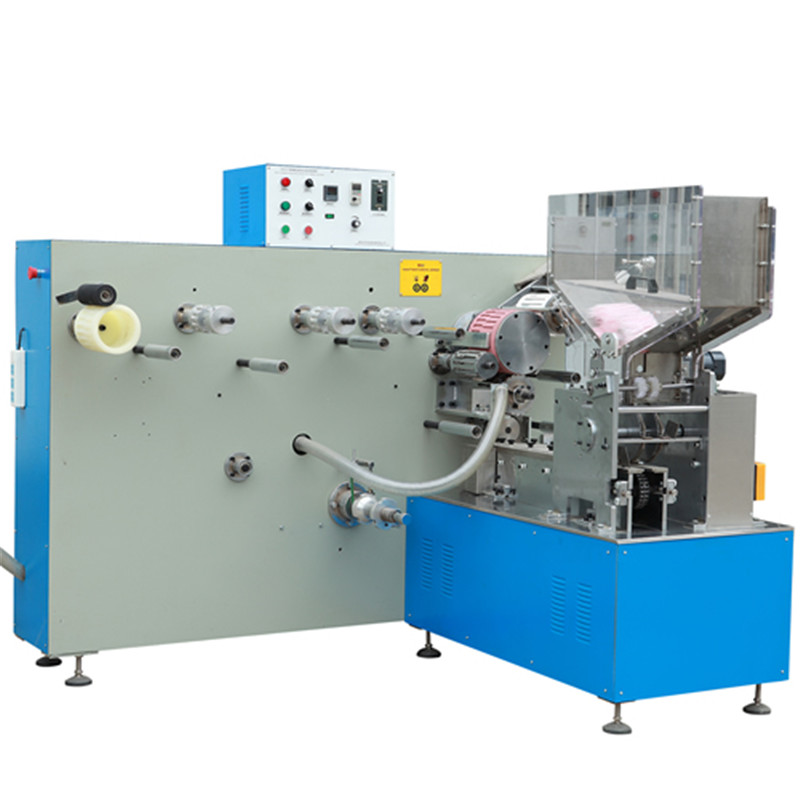 Automatic U shape straw packing machine U bending type straw plastic film in continous row packaging equipment