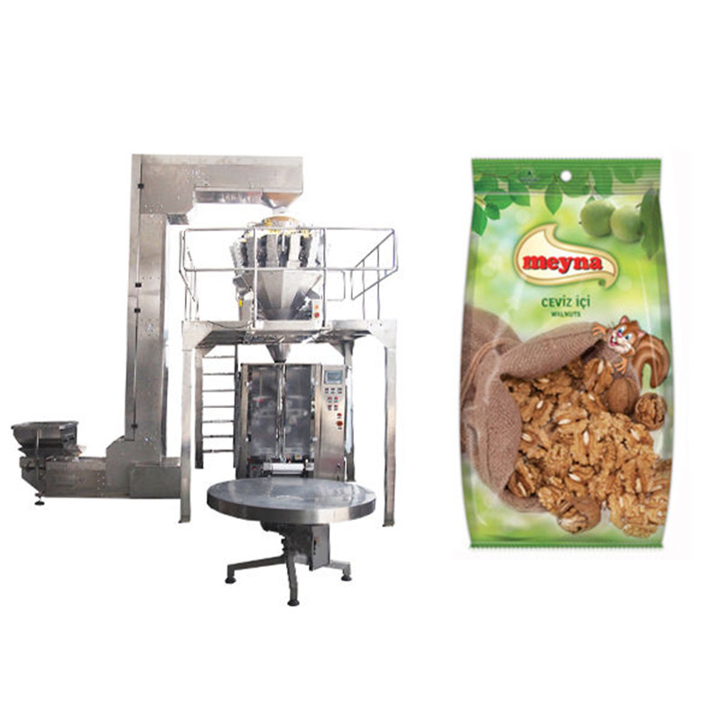 Vertical Packaging Machine V.F.F.S. Bagger Complete Systems nuts vertical packing machine