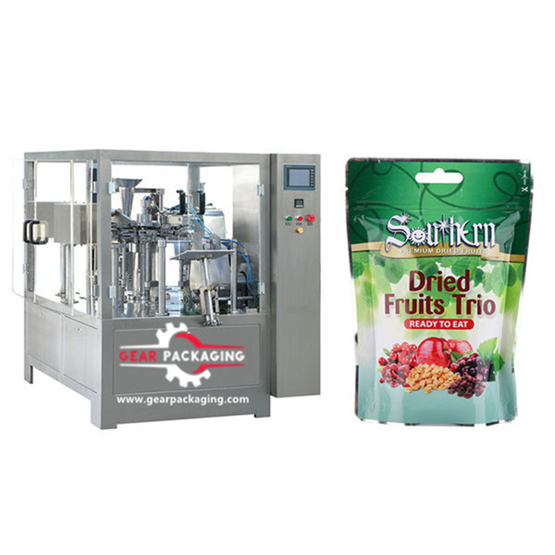 Pre-Made Pouch Packaging Solutions bag stand-up pouch filling sealing packing machine