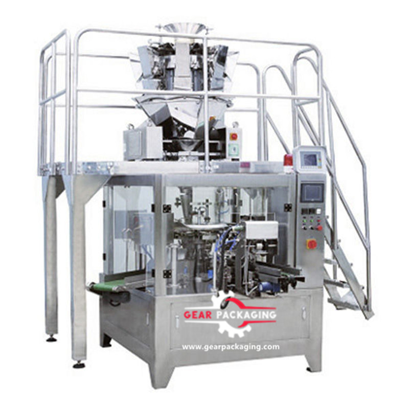 Dry fruit food standup Pre-Made Pouch Packaging Solutions automatic dry fruit standup pouch filling and sealing equipment