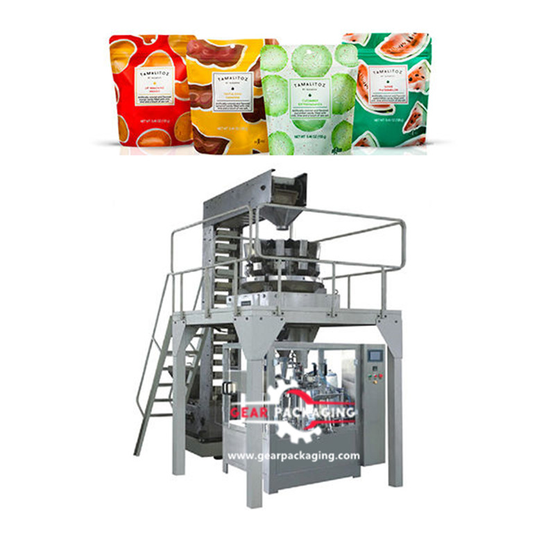 Zipper type bag Pre-Made Pouch Packaging Solutions zipper bag pre-made pouch packing machine