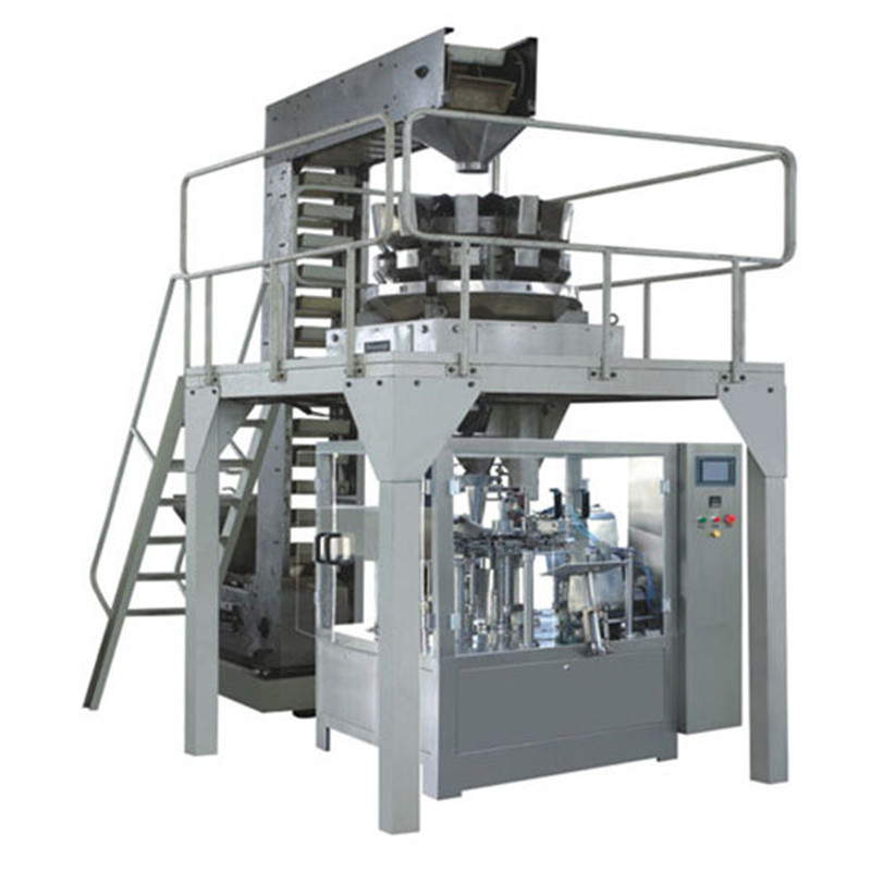 Granule weighing premade bag rotary packing machine Pre-Made Pouch Packaging Solutions