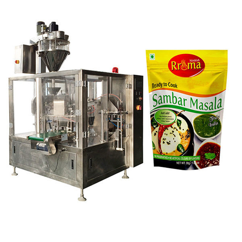Chilli powder packing machine Pre-Made Pouch Packaging Solutions
