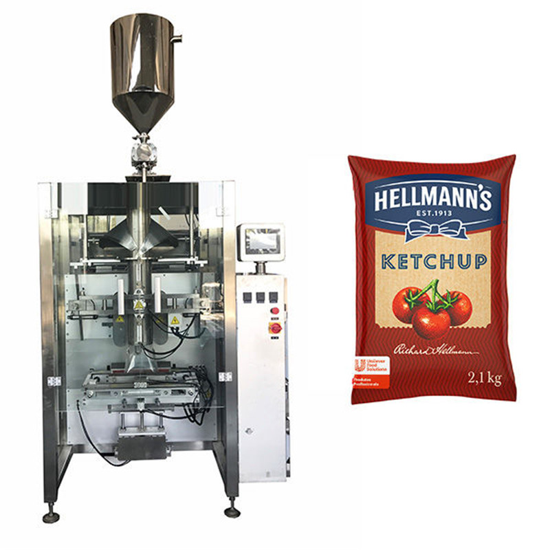 500g-2kg ketchup sauces packaging machine