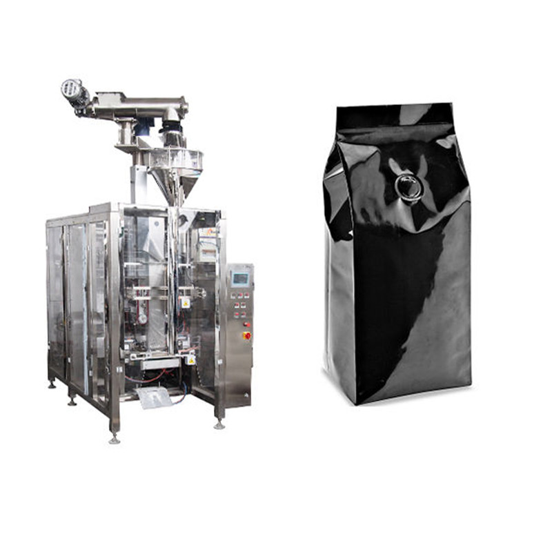 250g coffee powder packing machine V.F.F.S. Bagger Complete Systems