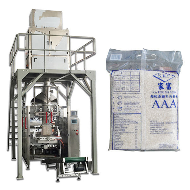 fully automatic granule particle food rice packing V.F.F.S. Bagger Complete Systems