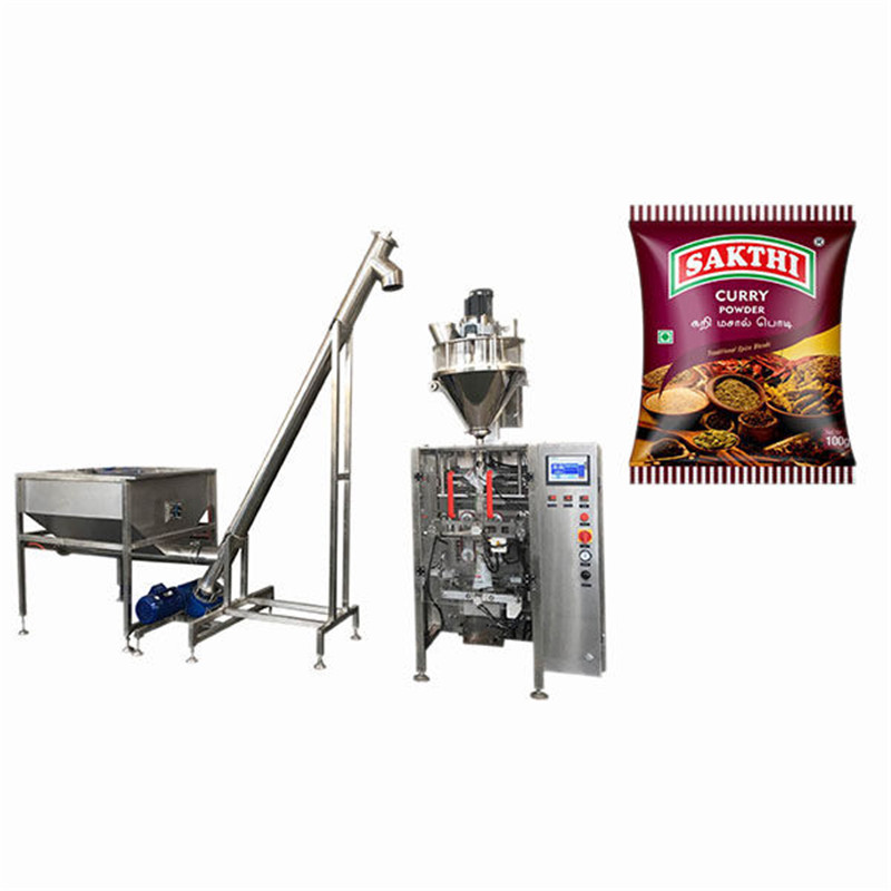 100g-500g curry powder packaging machine V.F.F.S. Bagger Complete Systems