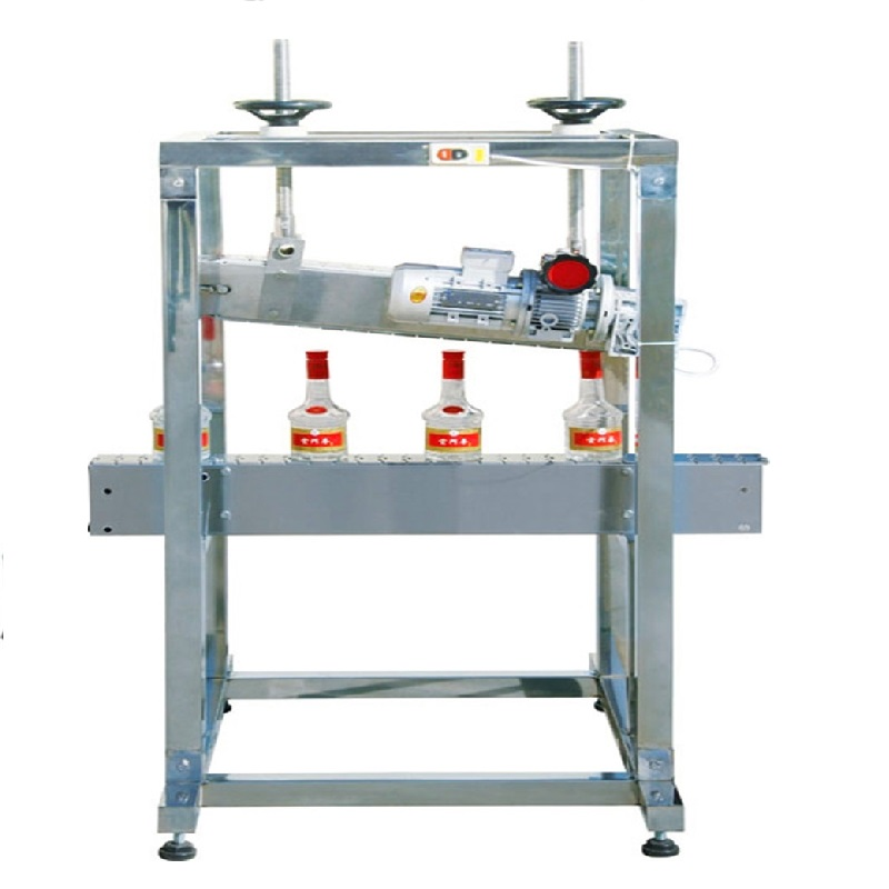 Automatic cap pressing machine lid plug cap pressing line