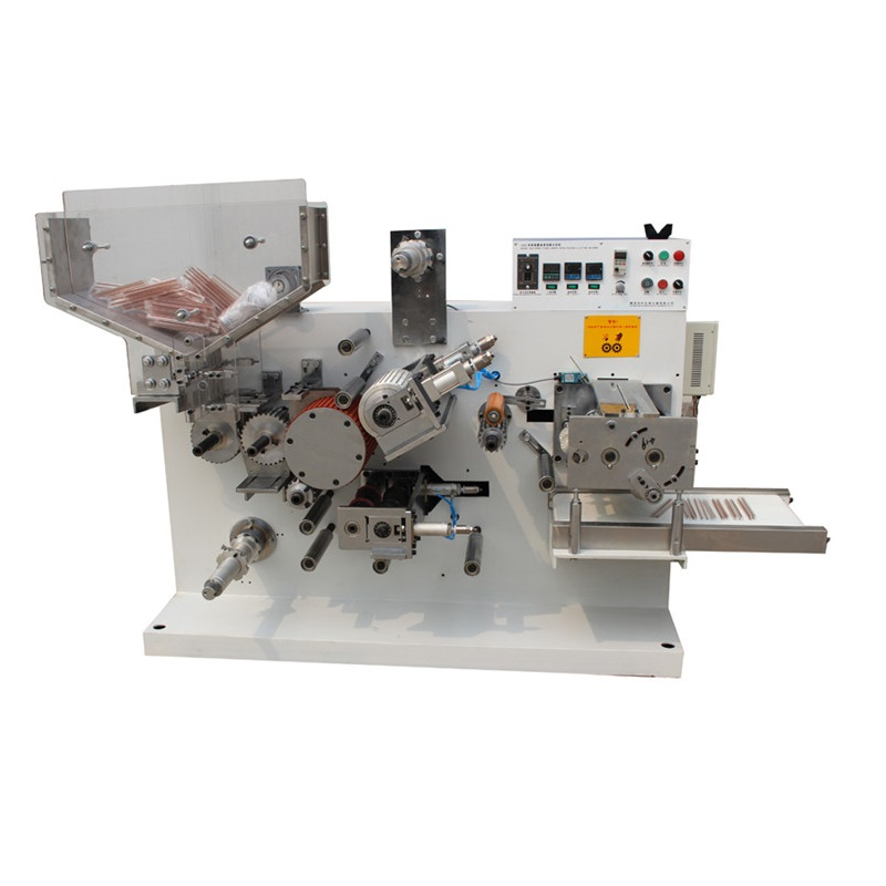 Drinking straw film cold cutting packing machine single straw cutting piece by piece automatic straw tube packaging system high speed