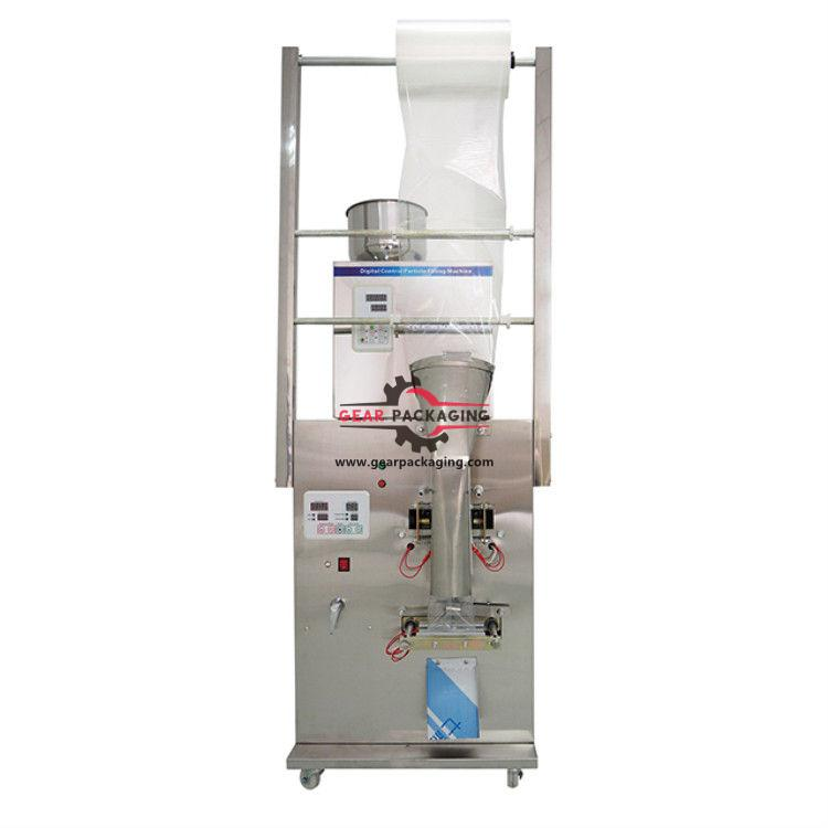 Automatic tea granule racking filling bagging packaging machine