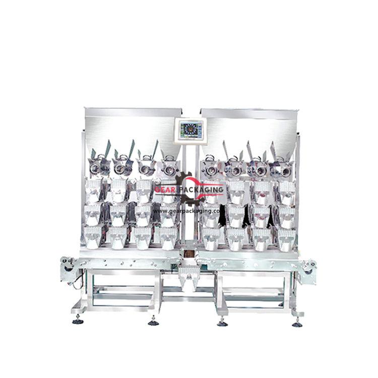 Automatic 8 heads weighing filling heads for packing machine