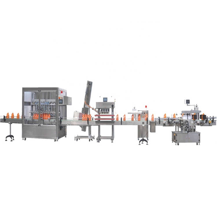 Automatic engine gear oil bottle pail filling capping sealing labeling machine